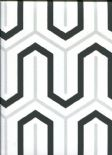 Paper & Ink Black & White Wallpaper BW22800 By Wallquest Ecochic For Today Interiors